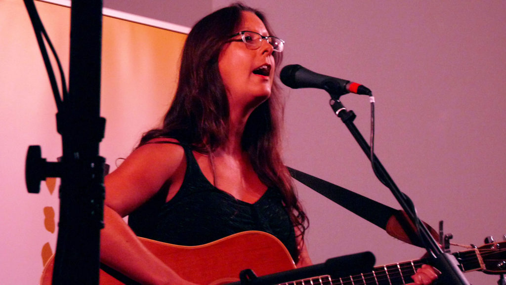 Allison Brown Windsor Folk Sept. 2018 performance