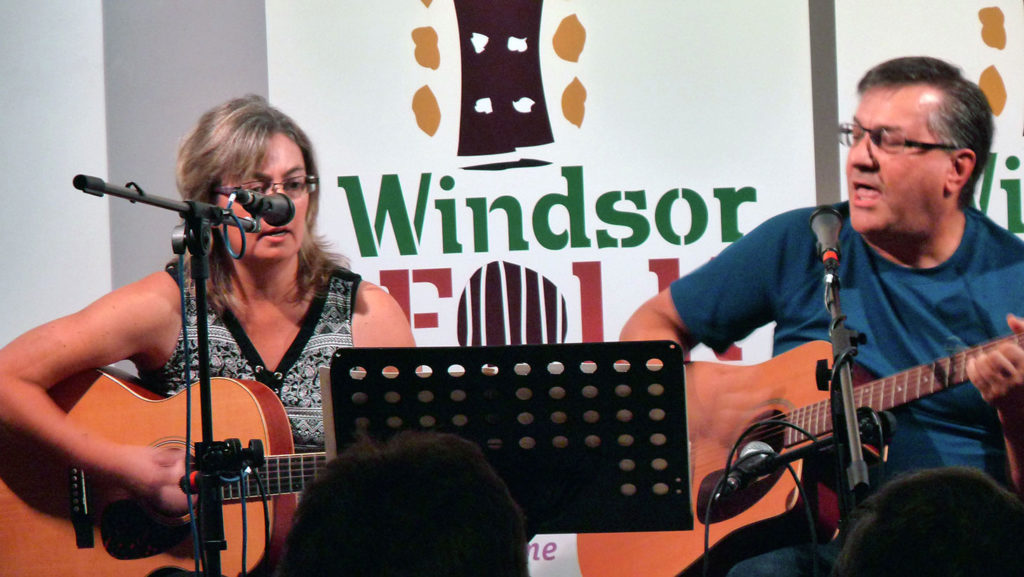 Chris and Mike Gurniak Windsor Folk Sept. 2018 performance